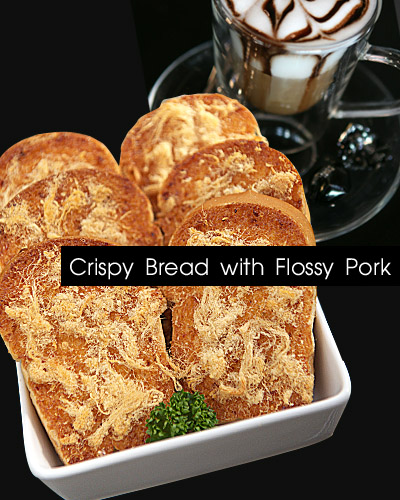 Crispy Bread with Flossy Pork